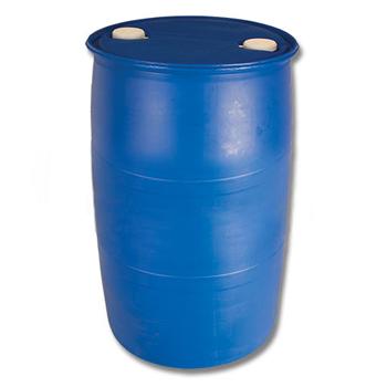 Пластиковая бочка пищевая полиэтиленовая с пробками 220л., БП220п