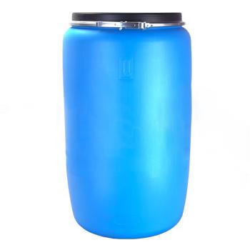 Пластиковая бочка пищевая полиэтиленовая емкостью 227л., БП227о