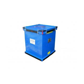Герметичный специализированный контейнер для ртутных приборов, ламп ДРЛ ГСК-РП-A