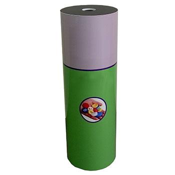 Контейнер для сбора пластиковых крышечек от бутылок (тубус)