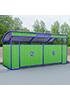 Закрытая декоративная контейнерная площадка ПК-3.3