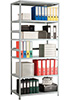 Стеллаж для офиса Практик MS 1600/700/300 6 полок