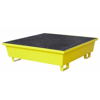 Металлический поддон-емкость контейнер для локализации разлива 4 бочек, 323л.