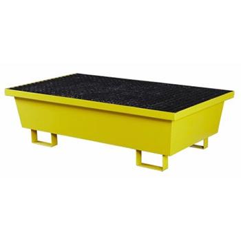 Металлический поддон-емкость контейнер для локализации разлива 2 бочки, 160л.