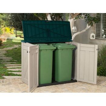 Уличный ящик для двух контейнеров на 240 литров