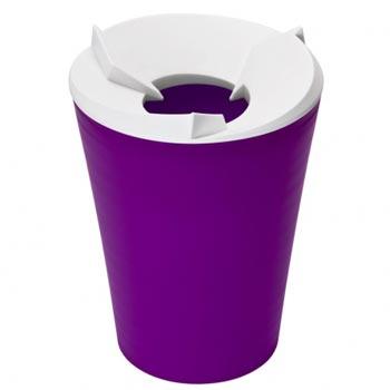 Контейнер для мусора Recycle фиолетовый