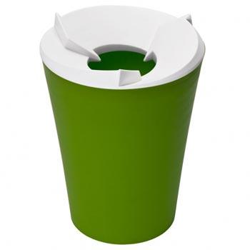 Контейнер для мусора Recycle лайм
