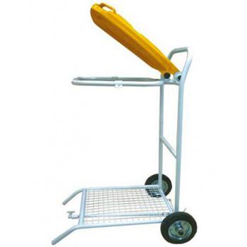 Тележка-стойка для отходов медицинских, транспортировка с помощью пакетов