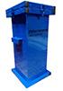 Герметичный контейнер для сбора, хранения, транспортировки на утилизацию ртутных люминесцентных ламп 600x400x400