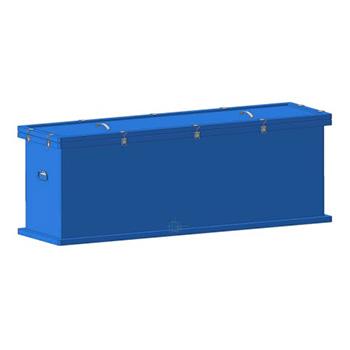 Герметичный контейнер для сбора, хранения, транспортировки на утилизацию ртутных люминесцентных ламп 1250x350x550