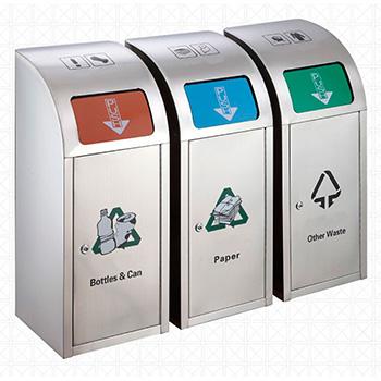 Урна для раздельного сбора мусора модульная Artbin Largo