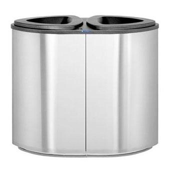 Урна для раздельного сбора мусора FinBin BERMUDA Double