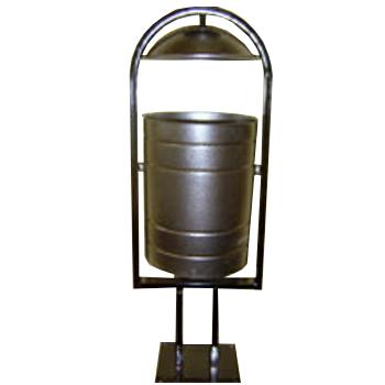 Урна металлическая цилиндрическая, 30л.