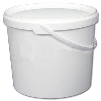 Ведро пластиковое круглое емкостью 5л., ВП5