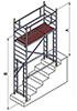 Вышка модульная алюминиевая ВМА 700 П/5