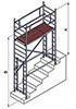 Вышка модульная алюминиевая ВМА 700 П/4