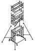 Вышка модульная алюминиевая ВМА 900/9