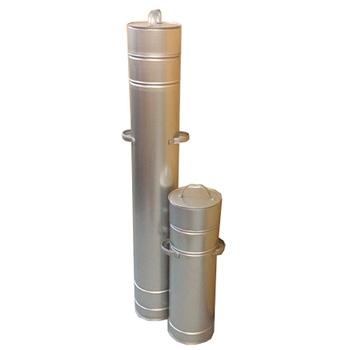 Барабан-контейнер для поврежденных ртутьсодержащих ламп длиной от 50 до 1500 мм