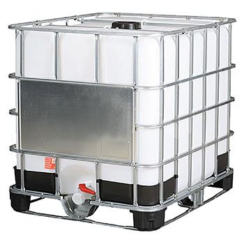 Емкость кубическая UC-1000 комб. с краном комбинированная