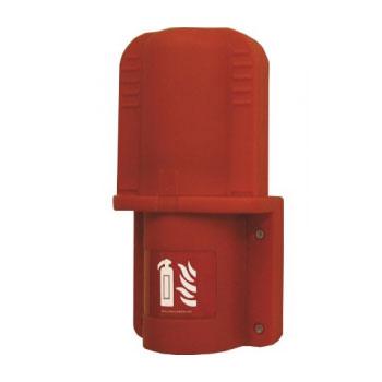 Пластиковый пенал для огнетушителя 2 кг