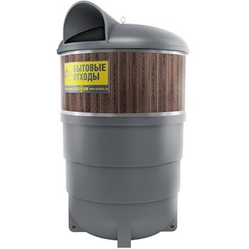 Заглубленный контейнер цилиндрический ЭкоКОНТР-5000М 5м3