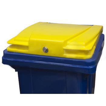 Замок для мусорных контейнеров